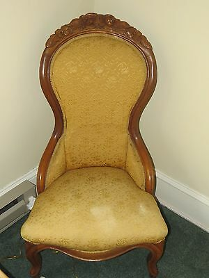 Victorian Rose Ladies Chair