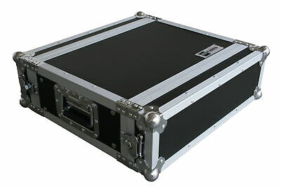"3HE 19"" Rack 35cm mit Butterfly Rack Case Flightcase Amp DJ CD Server Effektrack"