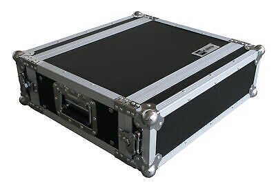 "Effektrack 3HE 35cm 19"" Rack Butterfly Case Flightcase Amp DJ CD Server Siderack"