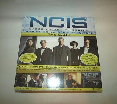 NCIS The Board Game New in Box Sealed