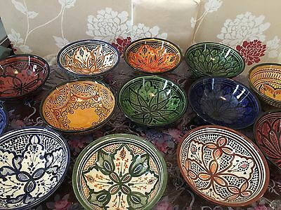 New Moroccan Handmade Cermaic Large Fruit/salad/ Rice/ Pasta/ Food Bowl