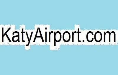 KatyAirport.com Prime Two Word Domain Name for Sale EXP 3/09/2018