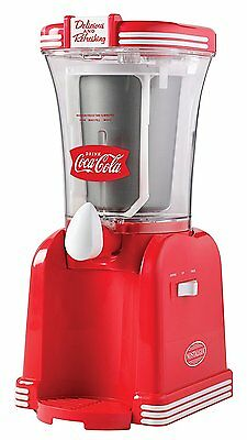 COKE 32oz Slushie Drink Maker - Frozen Slush Machine Ice Slurpee Mixer
