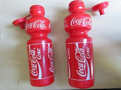 Pack of 2 : Coca Cola Bidon - Spécialités TA - Water Bottle Bike Bicycle - Pair