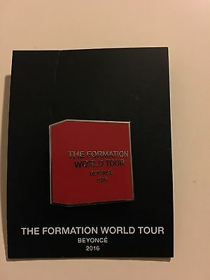 Beyoncé Formation World Tour Limited Edition Pin From Last Show 10/7 Buynow Ship