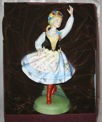 Royal Doulton - Polish Dancer HN 2836  Dancers of the World