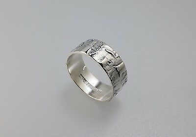 alten Original Ring Silberschmuck Finnland 1973 Aarne Rautio finish Jewelry