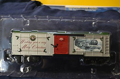 American Flyer 6-48833 S Gauge 2013 Christmas Boxcar - NEW