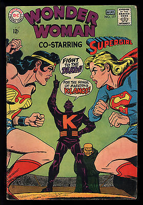 Wonder Woman (1942) #177 1st Print Supergirl Team Up Battle Klamos Very Good