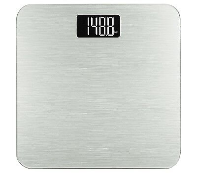 400lb/180kg Electronic Bathroom Scale in Tempered Glass