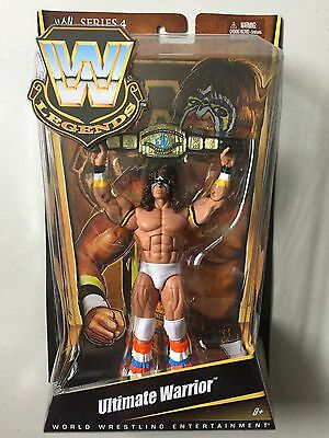 WWE Mattel Elite Legends ULTIMATE WARRIOR Wrestling Figure WWF