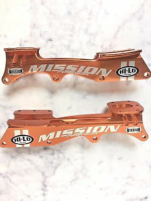 Mission Penetrator Rollerblade Chassis Orange Hi Lo 76/68