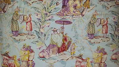 """Pierre Frey """"Le Marchand D'etoffes"""" Chinoiserie Fabric"""