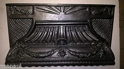 replacement  Cast Iron fireplace Hood canopy victorian style
