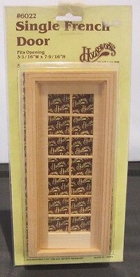 Dolls House 1:12th Scale Houseworks Single French Door