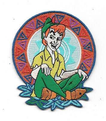Walt Disney's Peter Pan Sitting & Smiling Figure Patch, NEW UNUSED Out Of Print