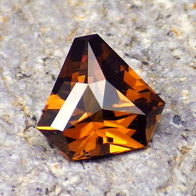 MALI GARNET 1.98Ct FLAWLESS-NATURAL ORANGE+CINNAMON+YELLOW COLOR-RARE!!