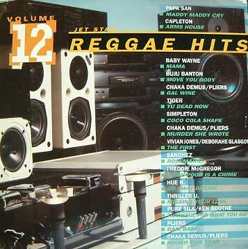 Reggae Hits Volume 12 - Various Artists  - Ragga/Dancehall Compilation Vinyl LP
