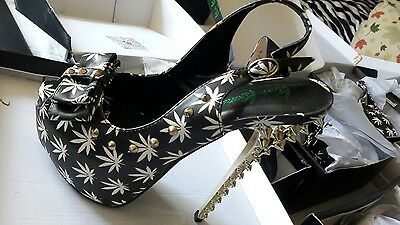 Exotic stripper shoes different size 10