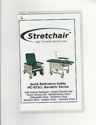 Stretchair MC-675CL Bariatric Series - multi-purpose electric, fully motorized