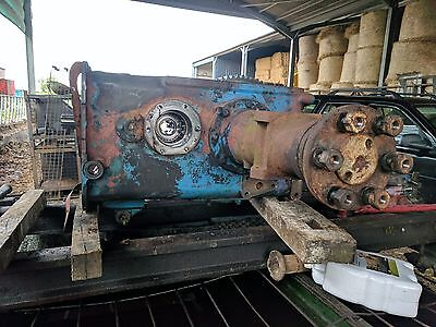 Backend Transmmision Removed From Fordson Super Major