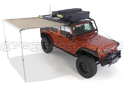 Rooftop Camping Tent Awning Retractable Awning Big Greggson Off-Road