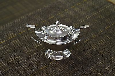 Vintage Gorham Plymouth 2443 Sterling Silver Sugar Bowl With Lid