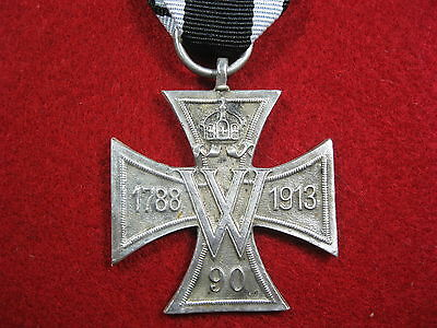 WWI WWII German medal Memorial cross for the 125 years Fusiliers badge WW2 WW1