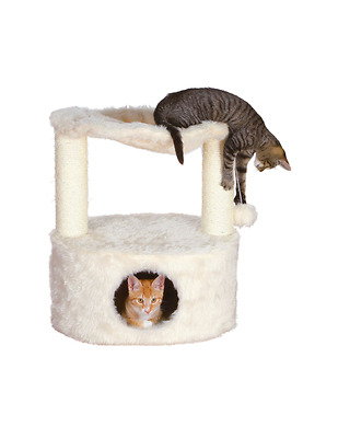 NEW: Trixie Soft & Plush Baza Grande Cat Condo Play Tree Tower & Scratching Post
