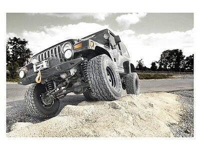 "Jeep Wrangler TJ 4"" Lift Kit Suspension Rough Country Greggson Off-Road"