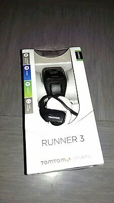 TomTom Runner 3 with Cardio, Music & Headphones