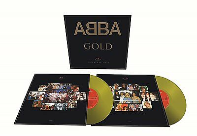 PRE ORDER:  ABBA : GOLD limited edition   (LP Vinyl) sealed