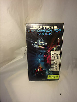 star craft the search for spock vhs NIP