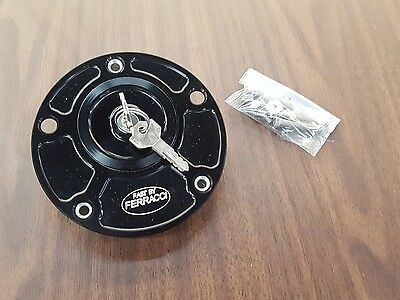Ducati/MV Agusta lockable gas cap (black)