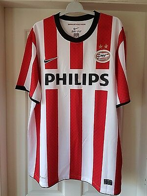 Ideal Sport Gift Genuine Signed 2010/11 Season PSV Eindhoven Home Shirt