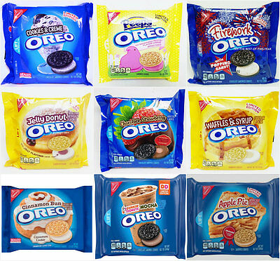 NEW Nabisco Oreo Sandwich Cookies LIMITED EDITION FLAVORS - You Pick Your Flavor