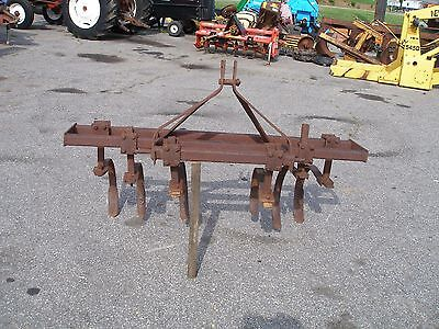 Nice 1 Row Spring Tooth Cultivator   3 Point Hitch