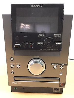 RARE Sony NAS-D50HD System HDD 80 GB CD Tuner  UNRELEASED IN US - JAPANESE