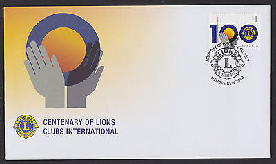 Australia 2017 : Centenary of Lions Clubs International, First Day Cover.