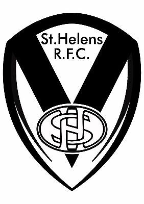 St Helens Rugby League Car Window Sticker