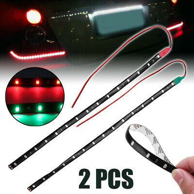"Bow LED 12"" Submersible Red Green Navigation Light Waterproof Marine Boat"