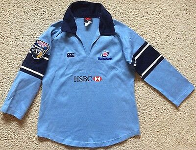 NSW Waratahs Rugby Union Jersey - Canterbury Made in Australia - Womens Size 12