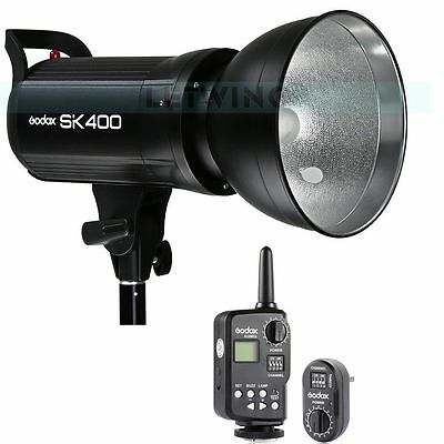 UK Godox SK400 400W Studio Flash Strobe Lamp Light Head 220V +FT-16 Trigger Set