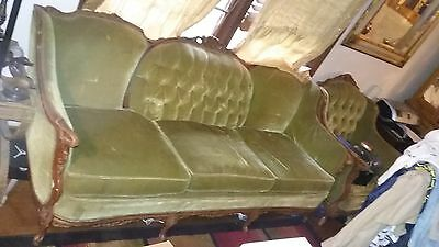Antique Deutsch Brothers Sofa & Chair