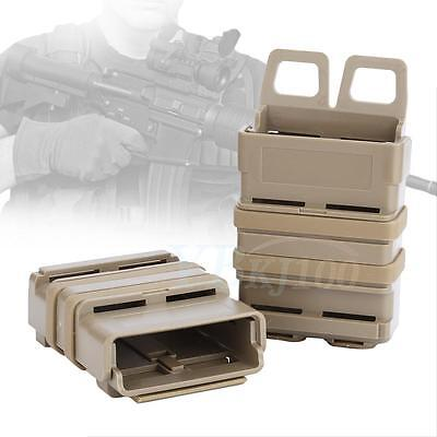 Tactics Fast Mag Pouch Holster 5.56 7.62 Magazine MOLLE M4 M14 AK MP7 2 Colors