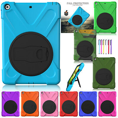 """Shockproof Hybrid Rugged Stand Armor Case Cover For iPad 9.7"""" 2017/Mini 4/Air 2"""