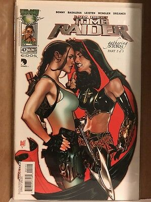 Tomb Raider #47 (2004, Image) NM- Top Cow Adam Hughes Variant Cover! Lara Croft