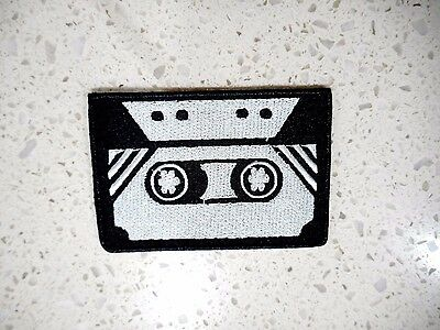 New Casette Tape Patch Embroidered Cloth Patches Applique Badge Iron Sew On