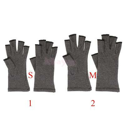 Hand Arthritis Therapy Compression Gloves Effective Joint Aches Pain Relief S M