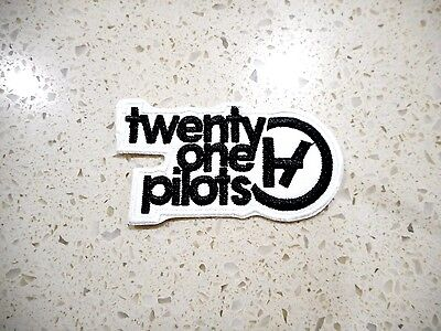 New Twenty One Pilots Patch Embroider Cloth Patches Applique Badge Iron Sew On